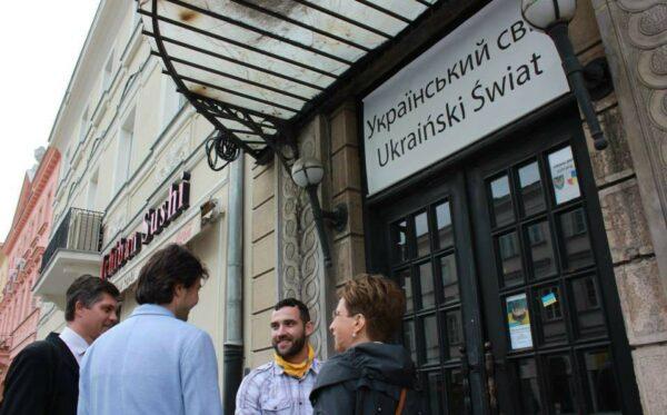 Євген Нищук з візитом у «Українському світі»
