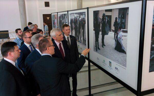 Виставка «Обличчя Євромайдану» вже відкрита