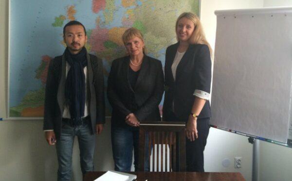 Близькі казахстанських дисидентів зустрілися з депутатом Малгожатою Госевською