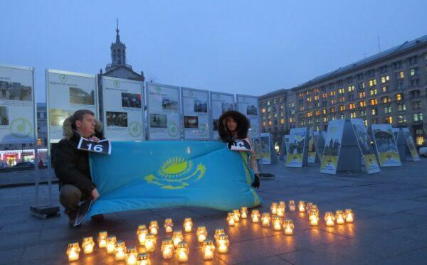 Відкриття фотовиставки «Жанаозен – Майдан: хроніка розстріляних протестів»