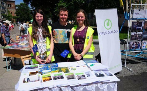 Фундація «Відкритий Діалог» взяла участь у Днях Європи в Дрогобичі