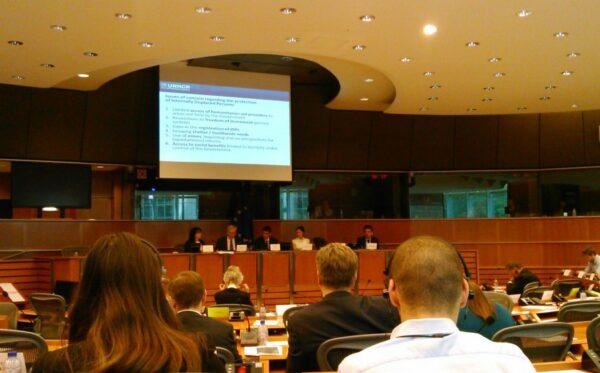 Обмін думками в рамках зустрічі підкомітету з прав людини Європейського парламенту (DROI) про ситуацію прав людини в Україні в районах, охоплених конфліктом