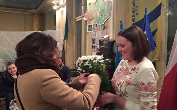 Герої нової України. Зустріч з Вікторією Дворецькою