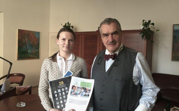 Права людини в Казахстані та українські політв'язні. Візит до Праги