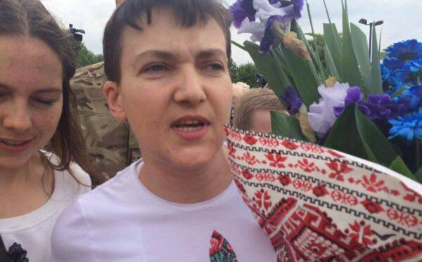 Надія Савченко на волі! Звіт Фундації «Відкритий Діалог» з аеропорту Бориспіль