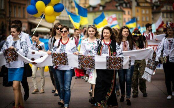 Четвертий Парад вишиванок пройшов вулицями Варшави