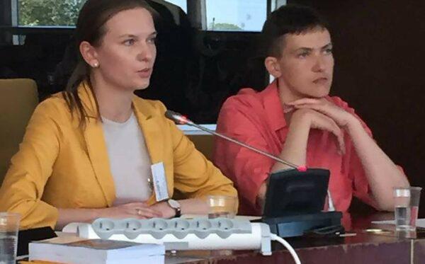 Роль санкцій як інструменту для підтримки прав людини в Росії – дискусія за участю Надії Савченко