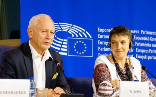Н. Савченко з візитом до Європейського парламенту