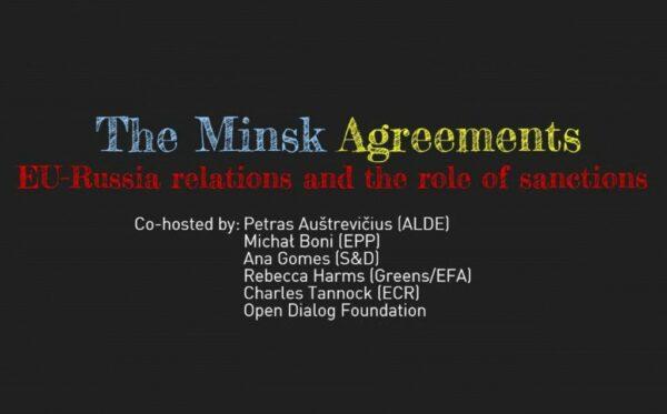 Мінські угоди. Відносини між ЄС та Росією і роль санкцій