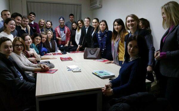 Візит студентів до офісу Transparency International Ukraine