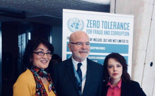 Делегація правозахисників із Фундації «Відкритий Діалог» приїхала на 37-е засіданння Ради з прав людини