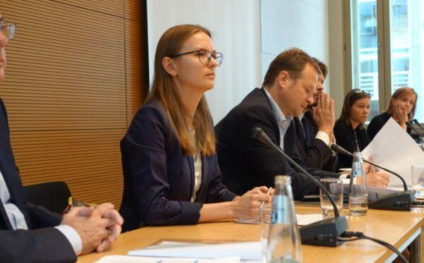 У Бундестазі Президент Фундації «Відкритий Діалог» розповіла про ситуацію в Польщі