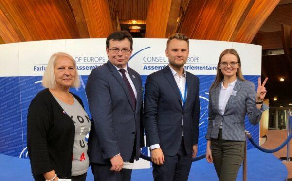 Представники Фундації «Відкритий Діалог» відвідали четверте засідання ПАРЄ в Страсбурзі
