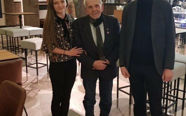 Короткий візит керівника організації Russie-Libertés Алексіса Прокоп'єва до Варшави