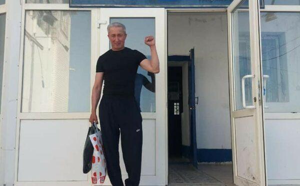Політичний в'язень Абловас Джумаєв на волі!