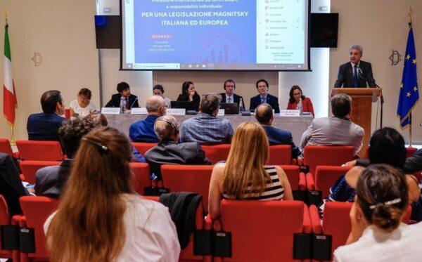 Фундація «Відкритий Діалог» і FIDU організували другий семінар по глобальному Закону Магнітського в італійському парламенті