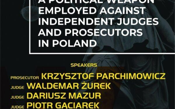 «Риторика ненависті як політична зброя, спрямована проти незалежних суддів і прокурорів в Польщі» – захід в рамках ОБСЄ HDIM 2019 у Варшаві