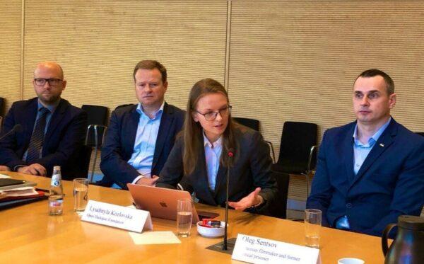Захід у Бундестазі та зустрічі в Берліні за участю Олега Сенцова, ЦГС і FIDU