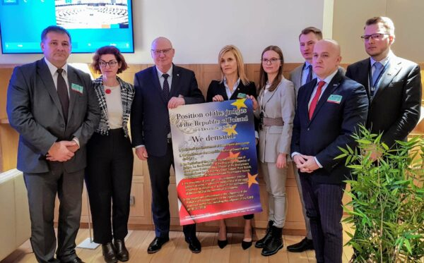 Переслідувані польські судді та прокурори у Брюсселі