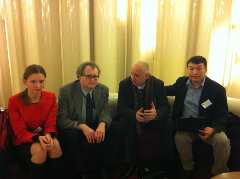 L. Kozlovska, L. Dinskis, V. Kozlov, M. Tungusbayev at EP