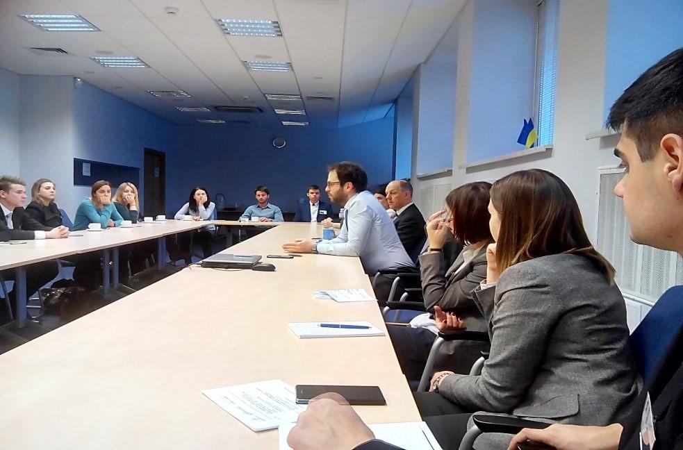 Зустріч у Представництві Європейського Союзу в Україні